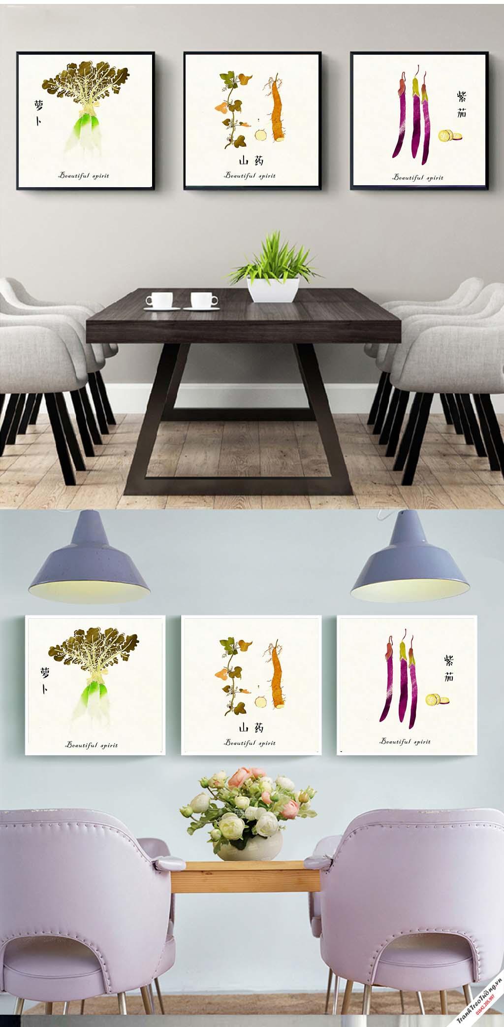 Tranh trang trí phòng bếp105