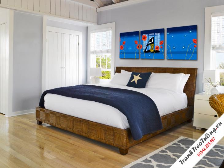 Tranh trang trí phòng ngủ13