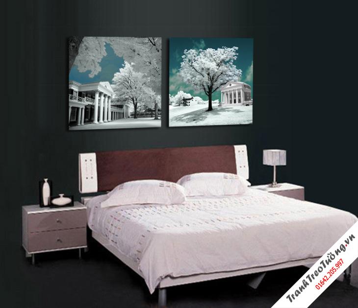 Tranh trang trí phòng ngủ4