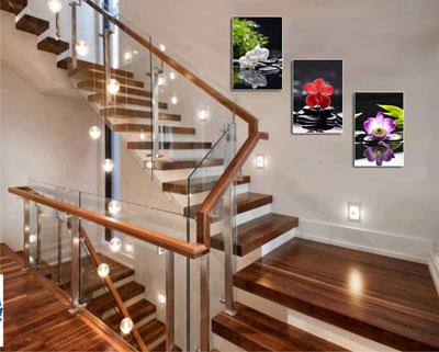 Tranh trang trí cầu thang5